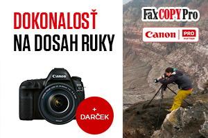 Canon EOS promo - získajte darčeky za nákup zrkadloviek EOS