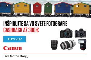 Canon letný cashback 2020