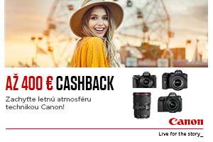 Canon letný cashback 2021