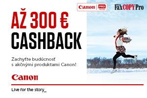 Canon zimný Cashback 2018