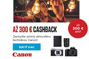 Canon zimný cashback 2020