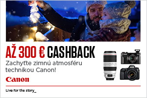Canon zimný cashback