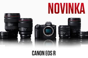 EOS R mirrorless novinka od Canonu