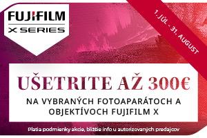 Fujifilm Cashaback - ušetrite až 300€