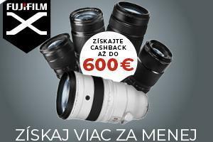 Fujifilm Cashback február-marec 2019