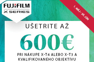 Fujifilm - ušetrite až 600€