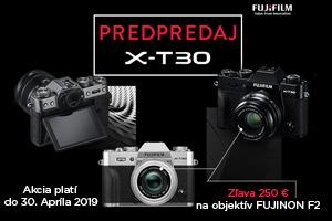 Fujifilm X-T30 predpredaj