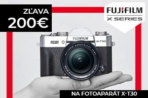 Fujifilm X-T30 teraz so zľavou -200€