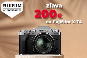 FujiFilm X-T4 - zľava 200€