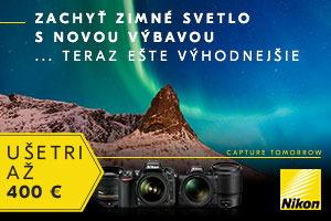 Nikon - zachyť zimné svetlo s novou výbavou