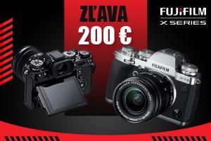 Okamžitá zľava -200€ na Fujifilm X-T3