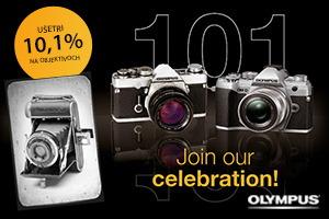 Olympus cashback - 101. výročie