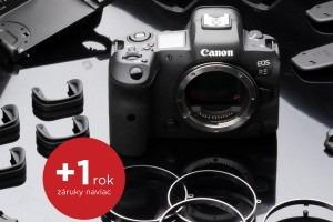 Predĺžená záruka +1 rok na Canon EOS R6 a EOS R5