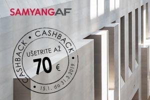 Samyang AF Cashback