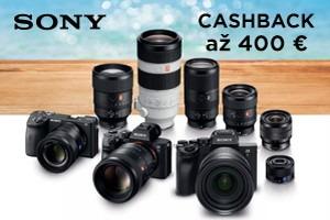 Sony letný cashback 2021