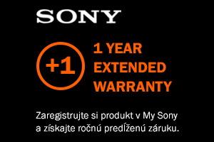 Sony predĺžená záruka +1 rok