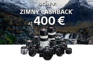 Sony zimný cashback