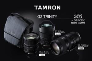 Tamron - získaj zľavu na objektív a brašňu zadarmo