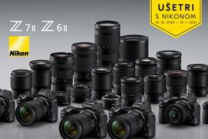 Ušetri 300€ s novou generáciou Nikon Z6 II