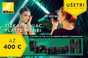 Ušetri s Nikonom aj v lete 2021