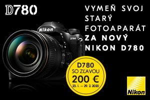 Vymeň svoj starý fotoaparát za Nikon D780