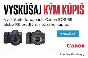 Vyskúšaj kým kúpiš Canon
