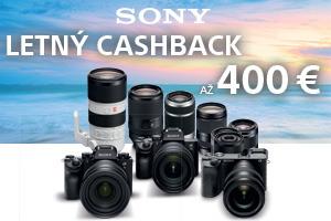 Získajte až 400€ cashback Sony
