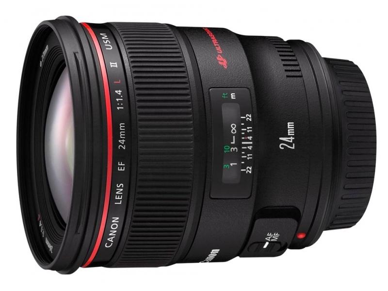 Canon EF 24mm f/1.4L II USM (pri kúpe s fotoaparátom -100€ SPÄŤ)