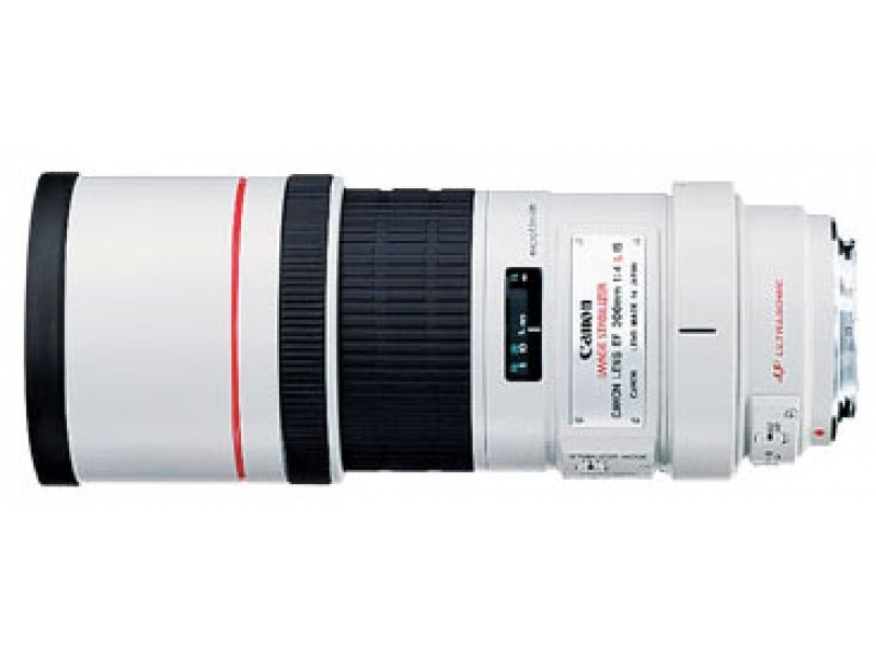 Canon EF 300mm f/4.0L IS USM (pri kúpe s fotoaparátom -150€ SPÄŤ)
