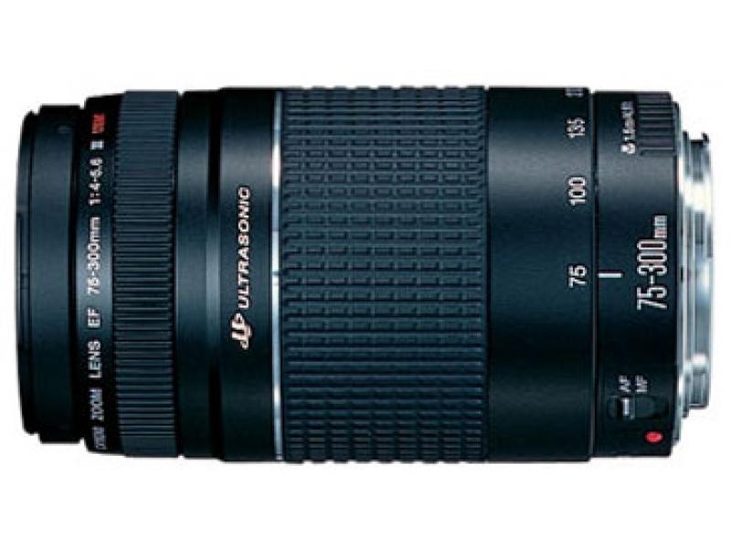 Canon EF 75-300mm f/4.0-5.6III USM (pri kúpe s fotoaparátom -10€ SPÄŤ)