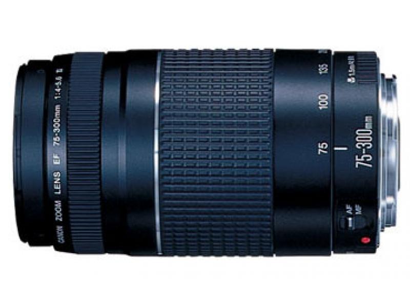Canon EF 75-300mm f/4.0-5.6III (pri kúpe s fotoaparátom -20€ SPÄŤ)