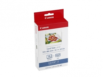 Canon Foto papier KC18IF pre Selphy CP (18ks)