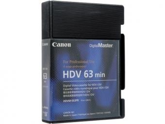 Canon HDVM-E63 HDV kazeta 63 min.