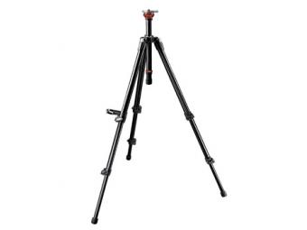 Manfrotto MA 755XB Video statív MAXI, nosnosť 7kg, výška 41,5-165cm, 50mm leveling ball, celý z hliníka
