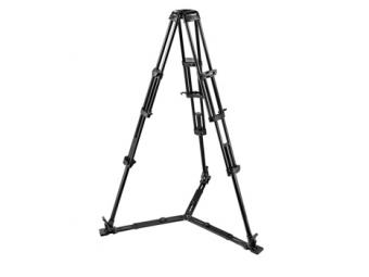Manfrotto MA 545GB Video statív Heavy Duty Pro, nosnosť 25kg, výška 32,5-158,5cm, bez stredového stĺpika
