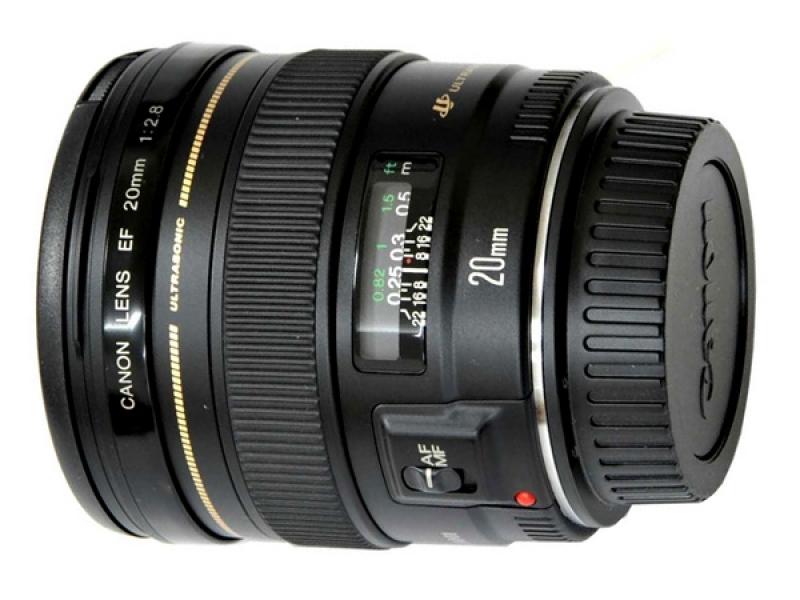 Canon EF 20mm f/2.8 USM (pri kúpe s fotoaparátom -60€ SPÄŤ)