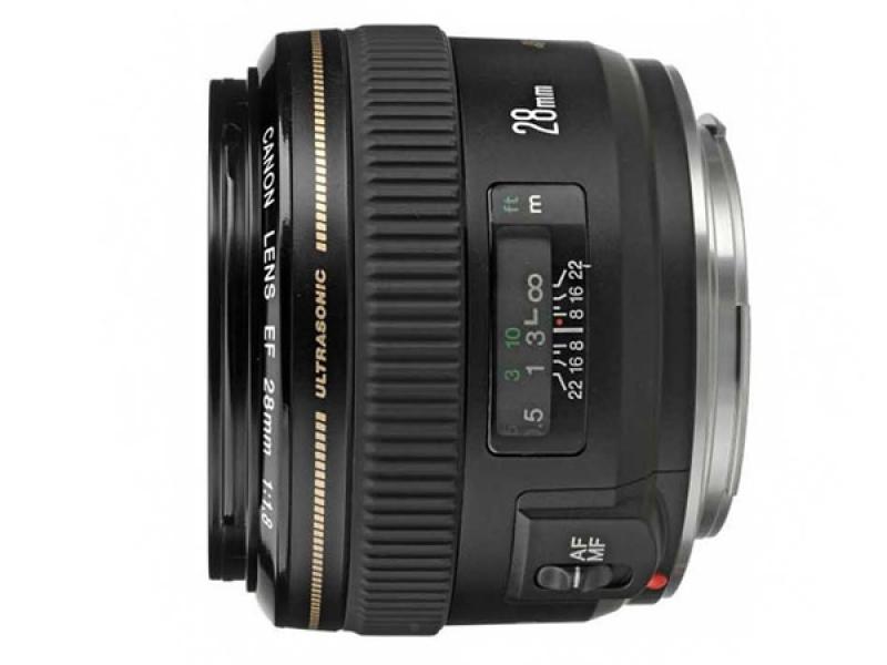 Canon EF 28mm f/1.8 USM (pri kúpe s fotoaparátom -60€ SPÄŤ)