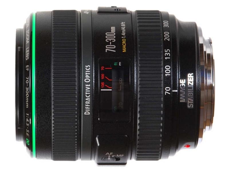 Canon EF 70-300mm f/4.5-5.6 DO IS USM (pri kúpe s fotoaparátom -150€ SPÄŤ)