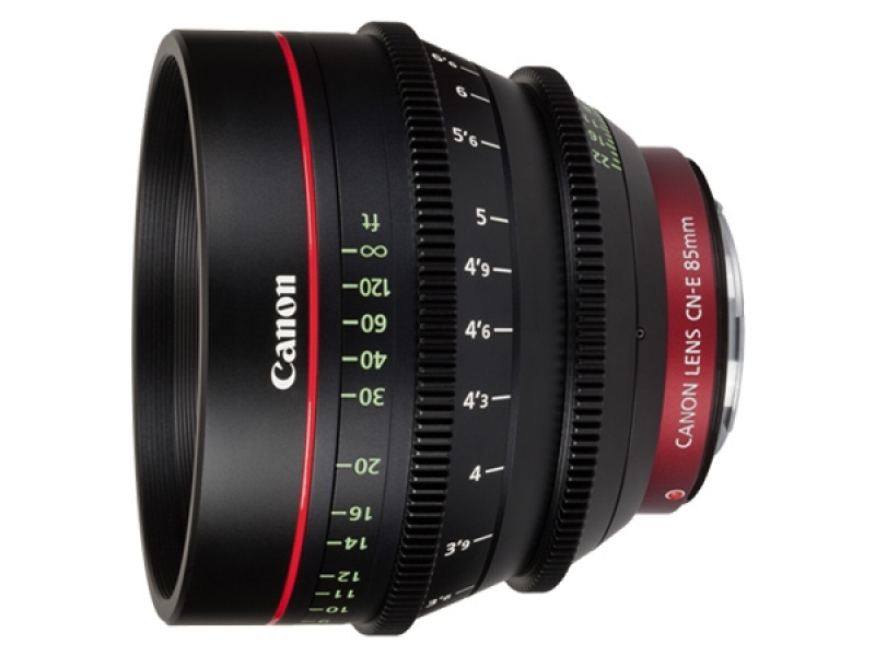 Canon CN-E 85mm T1.3L F objektív pre EOS C s bajonetom EF