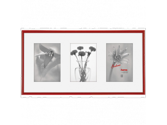 Hama 1146 plastová galéria MADRID, červená, 23x45cm