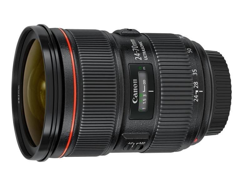 Canon EF 24-70mm f/2.8L II USM (pri kúpe s fotoaparátom -125€ SPÄŤ)