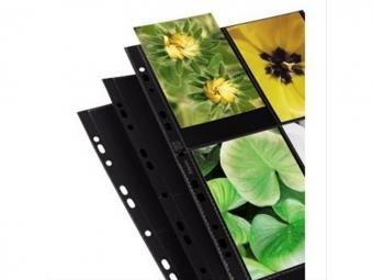 Hama 9797 zakladač A4 na 8 fotografií 10x15 cm, čierny, 10 ks