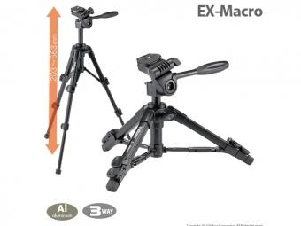 Velbon statív EX-Macro