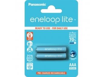 Panasonic Eneloop LITE 2x AAA NiMH 550mAh akumulátor