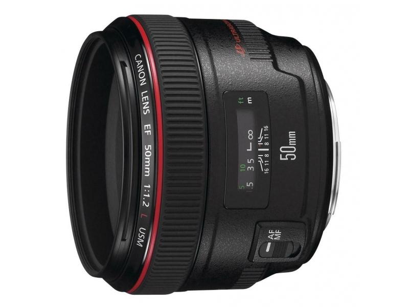 Canon EF 50mm f/1.2L USM (pri kúpe s fotoaparátom -100€ SPÄŤ)