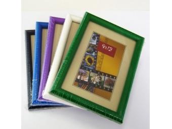 Falc Drevený rám na fotografie 9x13cm, farebný mix