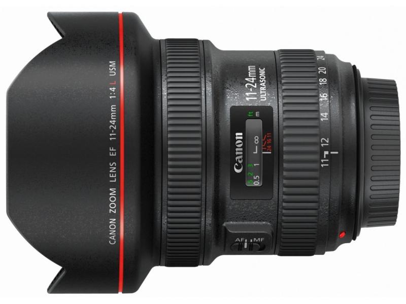 Canon EF 11-24mm f/4L USM (pri kúpe s fotoaparátom -300€ SPÄŤ)