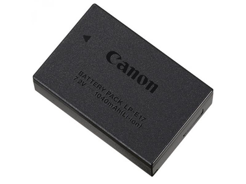 Canon Li-ion akumulátor LP-E17 (1040mAh) ORIGINAL