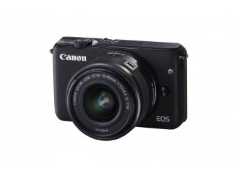 Canon EOS M10 + 15-45 mm IS STM čierna