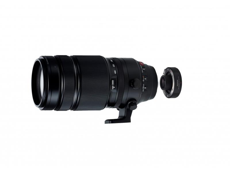 Fujifilm XF 100-400 F/4.5-5.6 R LM OIS WR + XF 1,4X TC WR